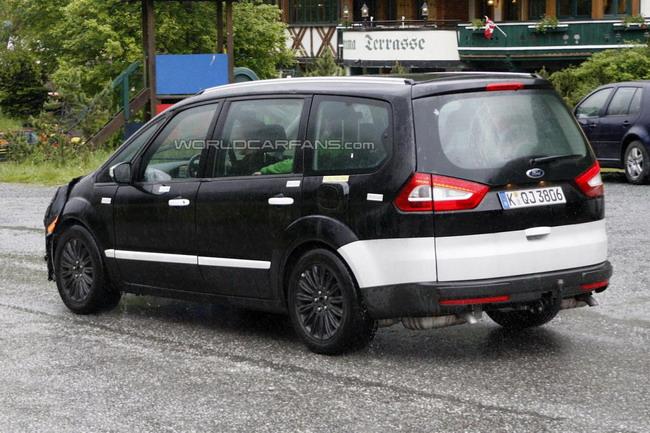 2014 Ford Galaxy проходит испытания в Европе