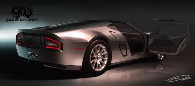 Galpin Ford GTR1 прибудет в Пеббл-Бич в следующем месяце