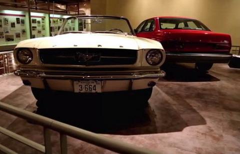 Форд начинает обратный отсчет времени до 50-летия Мустанга