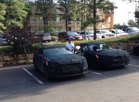 Шпионы поймали Ford Mustang 2015 в Аризоне