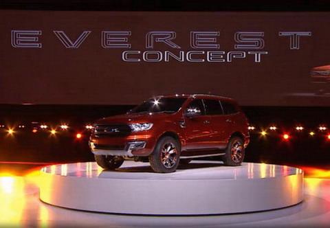 Концепт Ford Everest представлен в Австралии