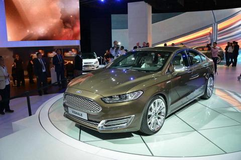 Ford Mondeo Vignale дебютировал на Франкфуртском автосалоне