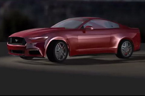 2015 Ford Mustang в 3D