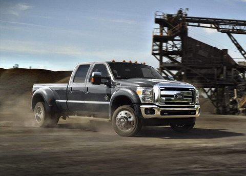 Ford представил модернизированную линейку F-Series