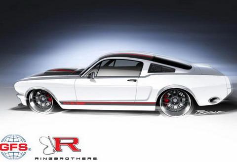 Ringbrothers подготовили Ford Mustang для выставки SEMA