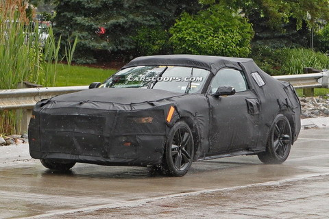 2016 Ford Mustang GT350 пойман на видео