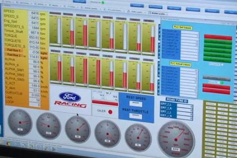 Ford тестирует на динамометрических стендах 3,5-литровый EcoBoost V6