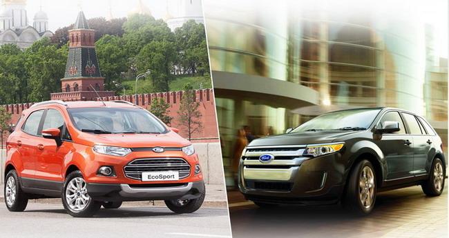 Ford Sollers запустит в производство Ford EcoSport и Ford Edge