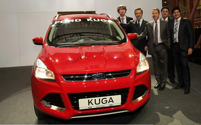 Первый Ford Kuga сошел с конвейера на заводе Ford Sollers