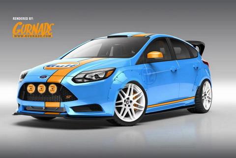 Ford показал 4 Focus ST для SEMA