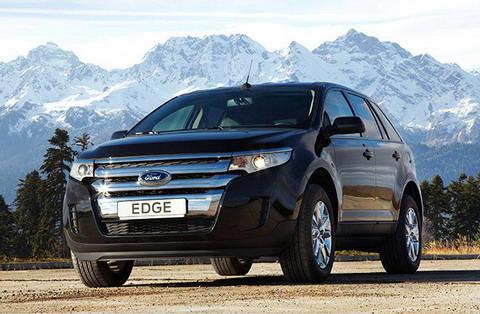 В России объявлены цены на новый Ford Edge