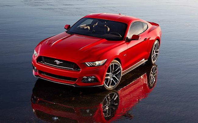 Ford представляет Ford Mustang нового поколения