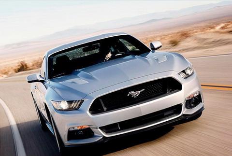 Первый Mustang в Европе и России