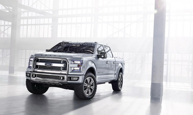Новый Ford F-150 будет показан на автосалоне в Детройте