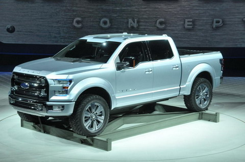 ����� Ford F-150 ����� ������� �� ���������� � ��������