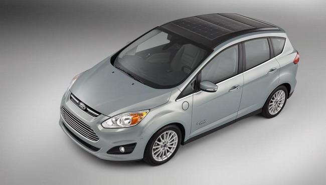 Ford представляет C-MAX Energi с солнечной панелью крыши