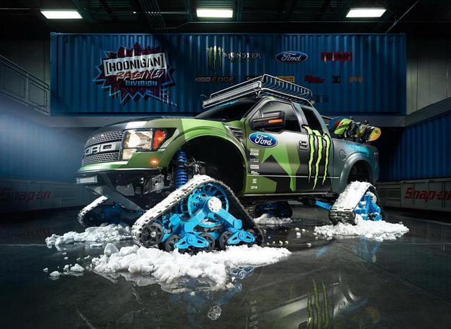 Ford F-150 RaptorTRAX является новой игрушкой Кена Блока