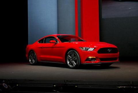 Продажи нового Ford Mustang начнутся в августе 2014 года
