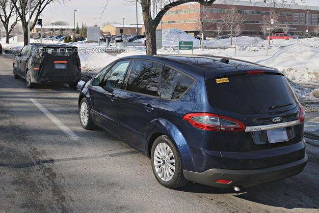 Шпионы впервые поймали новый Ford S-Max