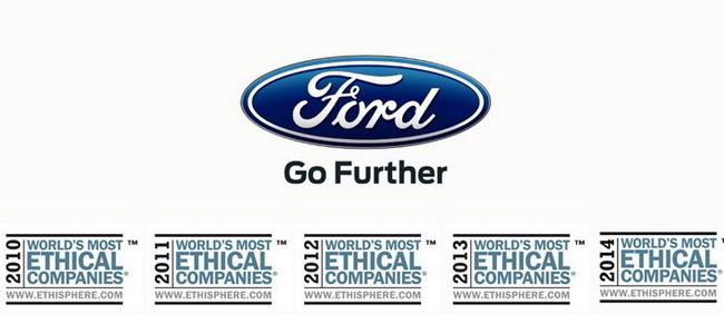 Ford вошел в список самых этичных компаний мира
