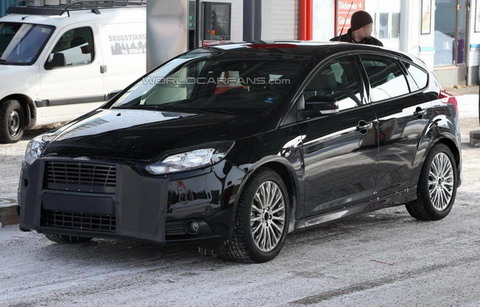 ������ Ford Focus RS ���������� � ���������