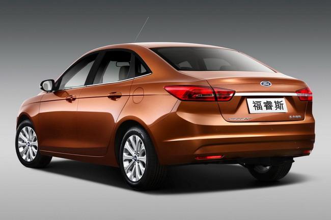 Официально представлена серийная версия Ford Escort для Китая