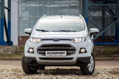 Ford EcoSport проходит дорожные испытания в России