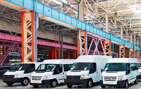 C конвейера завода Ford Sollers в Елабуге сошел 30-тысячный Ford Transit
