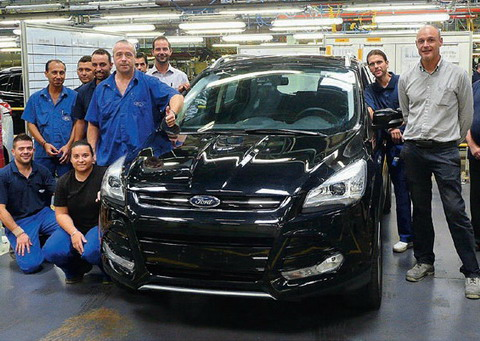 �� ������ Ford Sollers ���������� 20-�������� ��������� Ford Kuga
