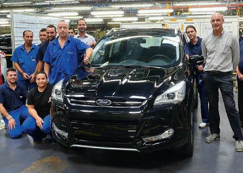 На заводе Ford Sollers произведен 20-тысячный кроссовер Ford Kuga