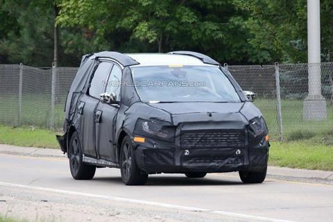 2016 Ford Galaxy проходит тесты в США