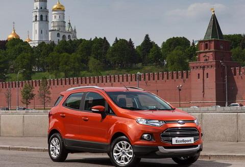 Ford EcoSport будет доступен по цене от 699 000 рублей