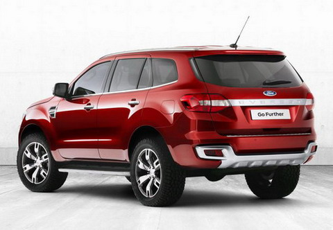 Ford выпустит новый Everest 2015