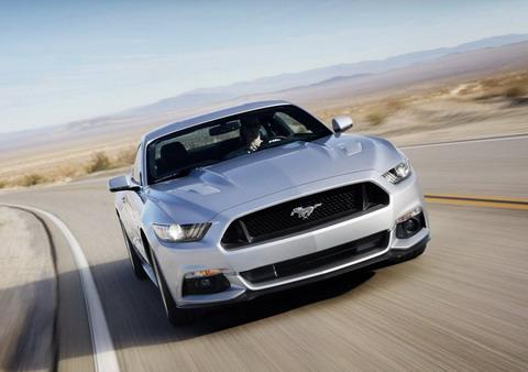 Данные о расходе топлива Ford Mustang 2015