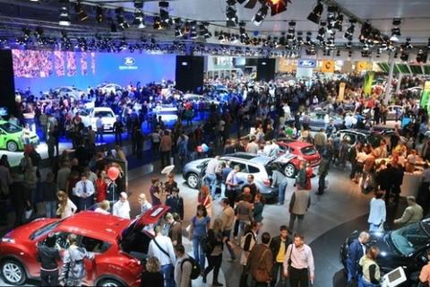 Компания Ford на Московском Международном Автосалоне 2014