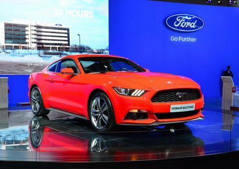 Ford представил новое поколение Mustang в России