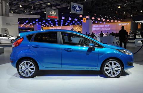 В Москве Ford представил обновленную Ford Fiesta