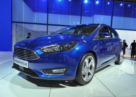Новый Ford Focus официально показан на ММАС 2014