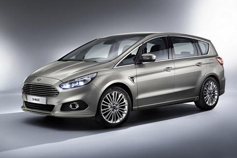Официально представлен Ford S-Max 2015