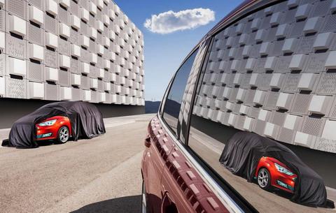 Форд опубликовал тизер Ford C-MAX