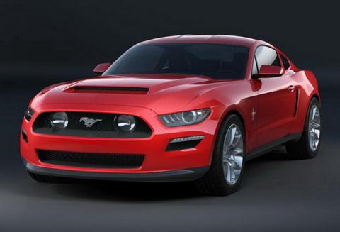 2015 Ford Mustang мог выглядеть так