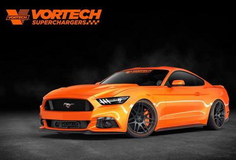 ������ Mustang Vorthech � 640 �.�. ��� SEMA