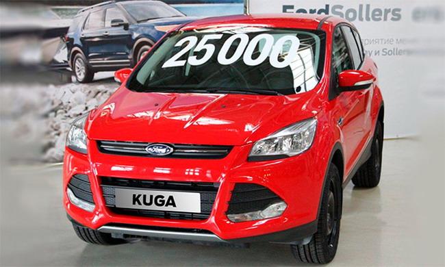 С конвейера завода Ford Sollers сошел 25-тысячный Ford Kuga