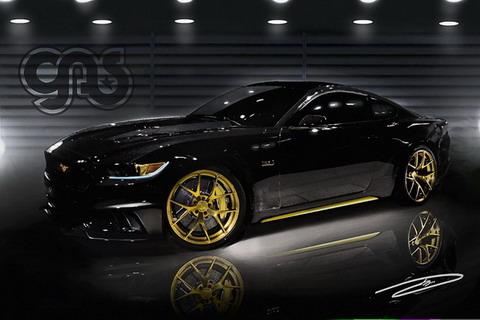 ������ ������������� Ford Mustang �� �������� SEMA � ���-������