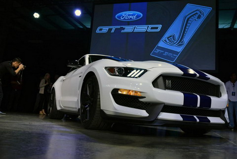 Ford Shelby GT350 Mustang ������������ � ������ ���� � �����