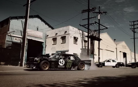 Gymkhana 7 c Ford Mustang 1965 ����