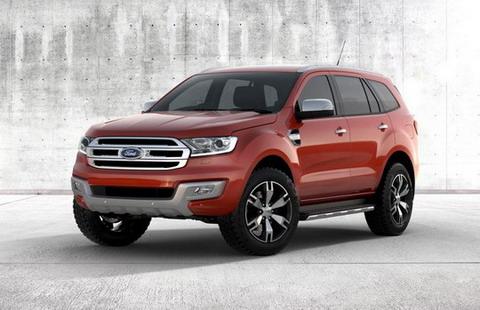���������� ����������� Ford Everest