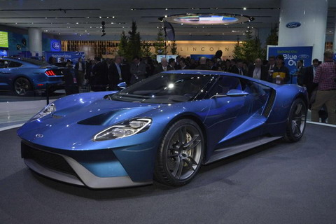 Ford GT ��� ���������� � ���������� ���������