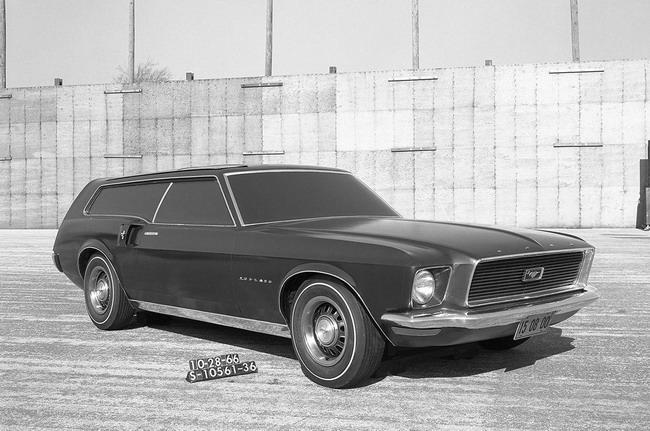 Рендер Ford Mustang GT хэтчбек