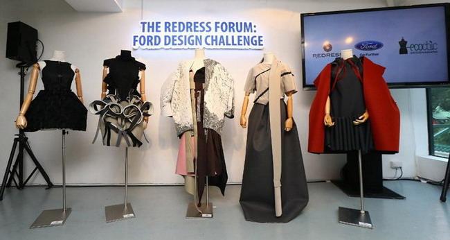Что общего у платья «от кутюр» и автомобильного кресла Ford?